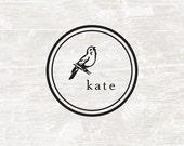 Custom Stamp, Custom Name, Self Inking Stamp, Birthday Gift, Bird, Personalized Gift, Children's Gift, Bird
