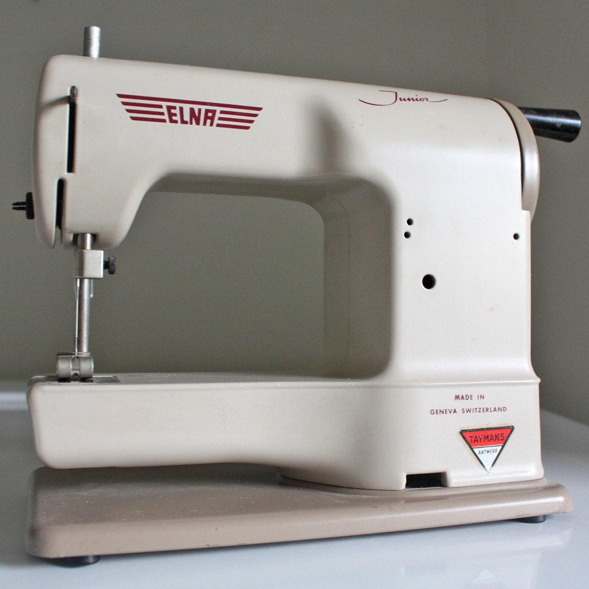 vintage elna sewing machine parts