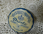 Pastilles-Droste Milk Chocolate collectable Candy Tin Holland