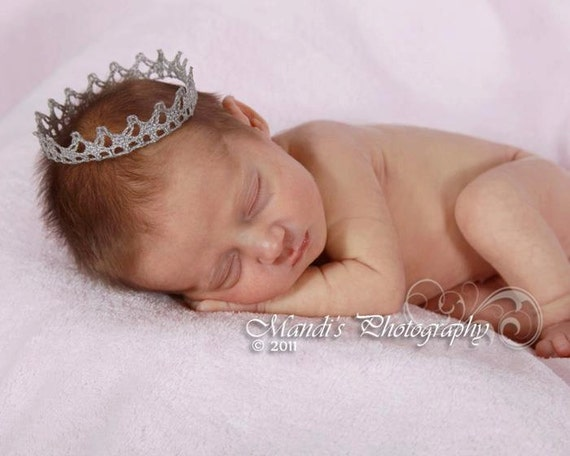 Items Similar To New Born Baby Boy Crown Photo Prop