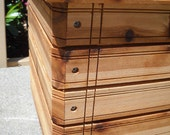 The Cube - Square planter box.  Available in:  Redwood, Western Red Cedar, Blonde Cedar