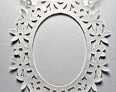Oval Flower Window Frame Pattern - (DIY)
