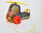 1970 - Mini Copter - Fisher Price Pull Toy