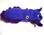 Crocheted Amigurumi Pattern - Cuttlefish (Large)