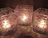 Dragonfly Candle Holder Trio
