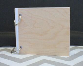 Blank 4X4 photo book/album