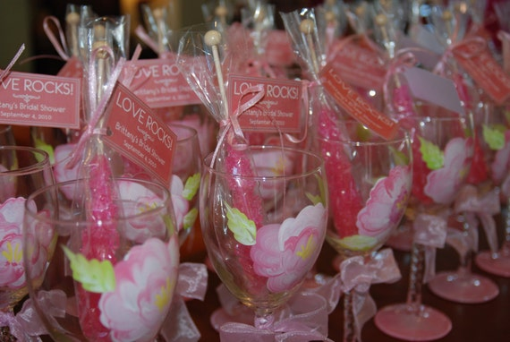 Wedding Gifts Wine: Items Similar To Wedding Wine Glass Bridal Party, Pretty