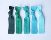 Always Summer set / Elastic hair ties / Wrist band / Bracelet