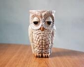 Owl Tumbler / Vase / Pencil Holder