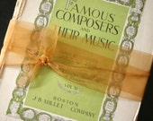Vintage Music Book Pages