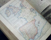 """1916 Turn of the Century """"New Complete Geography"""" by Tarr & McMurry Textbook with Beautiful Vintage Maps/Illustrations"""