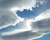Fear Not - 8x10 Fine art photography - Clouds in sky