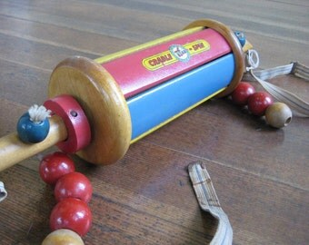 Vintage Baby Crib Toy - Cradle Spin (Right Time Toys)