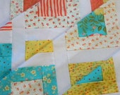 Quilt Top - Unfinished - Lovely by Sandy Gervais for Moda - DIY - 42 in x 52.5 in