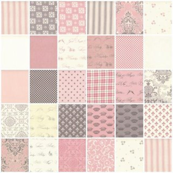 Puttin' on the Ritz - Pink - by Bunny Hill Designs for Moda Fabric - Layer Cake