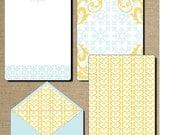Mrs. Spade Stationary 3pc pack PDF/ DIY
