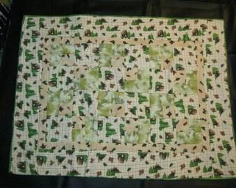 Bear Patchwork Quilt