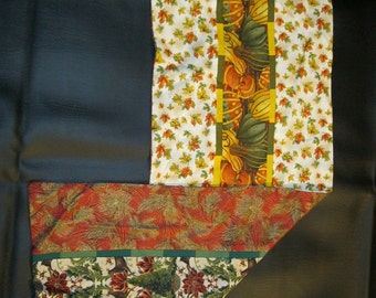 Reversible Fall/Christmas Table Runners
