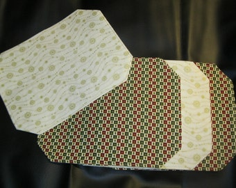 Reversible Winter/ Christmas Placemats (Set of 4)