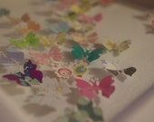 Beautiful, Handmade 3D Butterfly Picture