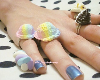 Rainbow Sherbert Rings