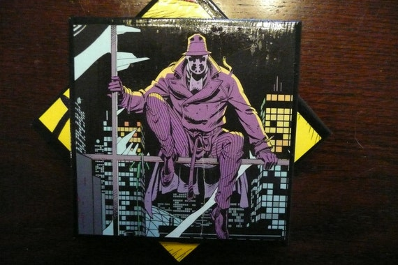Watchmen Ceramic Coasters - Set of Four