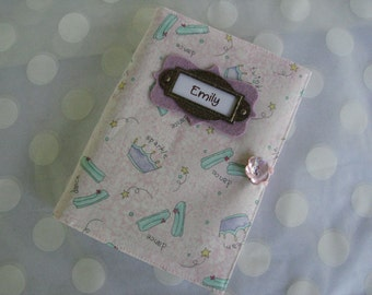 Photo Album Personalized Brag Book-Pink Sparkle and Dance