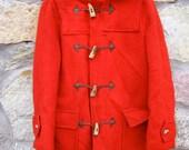 REDUCED Rare Vintage Hudson Bay Wool Toggle Duffle Coat