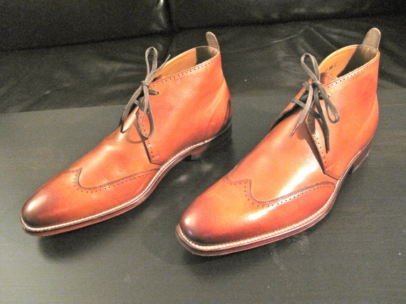 Wingtip Chukka Boots