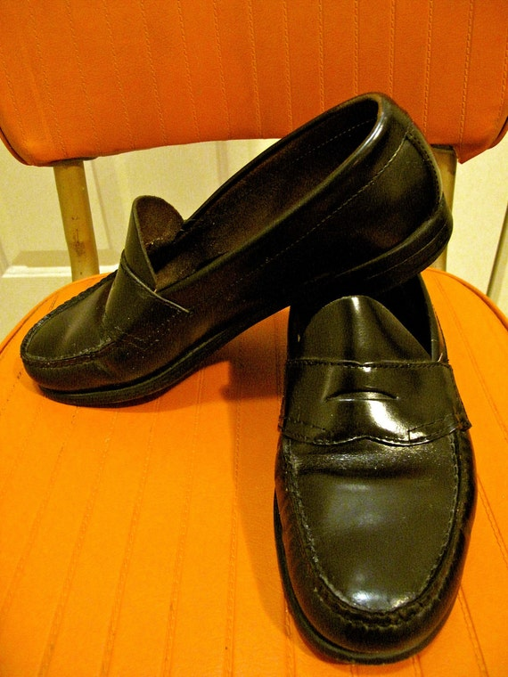 Vintage Bass Weejuns Penny Loafers Made in USA