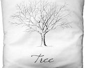 Tree fabric transfer iron image digital collage sheet printable Collage Sheet nr 069