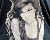 Amy Winehouse black long tank or short dress size M or L