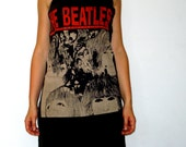 THE BEATLES black cotton strapless dress one size fits S or M