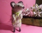 Needle Felted...Mr Mouse...by OOAK Artist Dee P