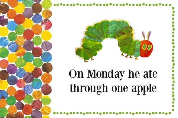 Very Hungry Caterpillar Party Accessories