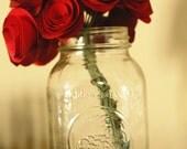 handmade custom paper flower bouquet
