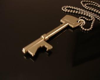 Key Bottle Opener Necklace - Wedding favor - Key Necklace - Bottle Opener Necklace - Men Gift - Groomsmen