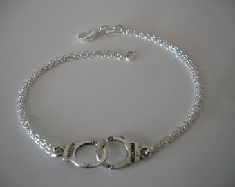 Handcuff Bracelet - Cowgirl Bracelet - Cowboy Wild West - Handcuff Jewelry - Handcuffs