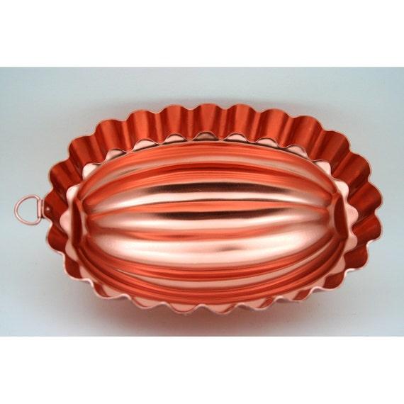copper jello molds value