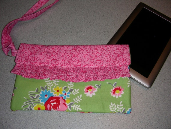 E Reader/Tablet Cover, Case, Carrying Sleeve OR Small Wristlet Purse/Bag