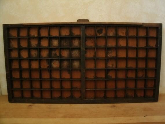 vintage printers type drawer (S)