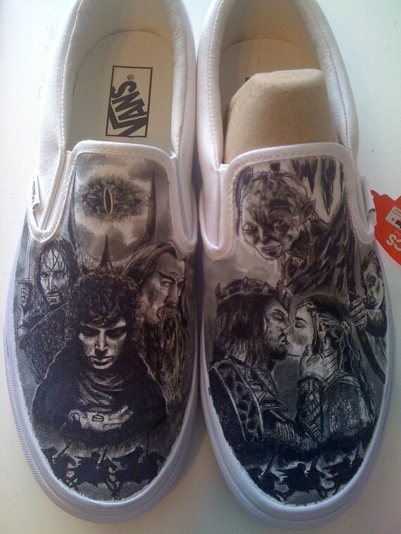 Lord of the Rings Custom Made Shoes