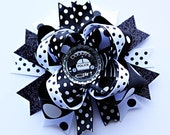 Daddy's Girl Police Officer Bow