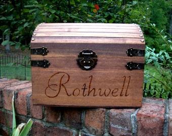 NEW:  Extra Large Keepsake Box, Wedding Card Box, Memory Box
