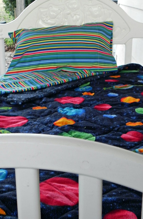 toddler bedding solar system - photo #17