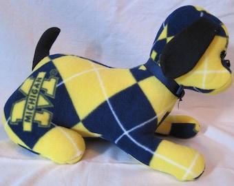 Michigan stuffed sports dog