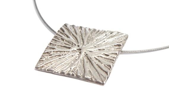 Silver boho necklace Dandelion necklace Bohemian necklace Boho jewerly Bohemian jewelry Make a wish necklace Pendant necklace Boho chic Gift