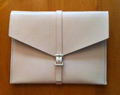 Handsewn Leather iPad Case or Clutch