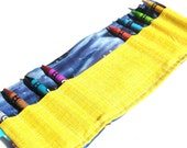 Space Ships Crayon Roll Party Favors with Crayons - Blue Ribbon