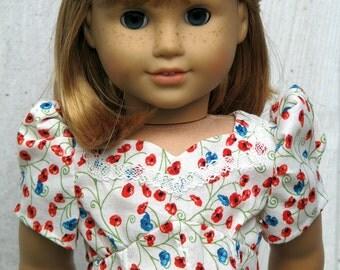 american girl doll dress: serenity